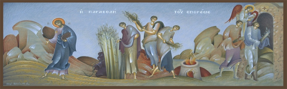 sower parable icon